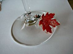 Mostly Food and Crafts: Fall Wine Glass Charms and Some Fun Fall Decor