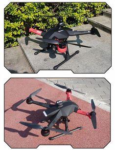 F450 Carbon Fiber Mod | drones | Drone technology, Carbon fiber, Diy