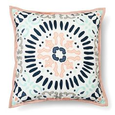 Medallion Decorative Pillow Square (18