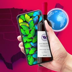 MEDIA ANNOUNCEMENT: By end of consumers will be able to point their phone at almost any USA-produced wine label to experience augmented reality content, offering the backstory behind the wine Augmented Reality Apps, Wine News, Wine Brands, Wine Label, Digital Marketing Strategy, Software Development, Do Anything, Social Media, Usa