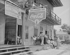 Coca Cola Pictures Vintage | Mississippi Inn Coca Cola Sign 1940s 8x10 Reprint of Old Photo | eBay