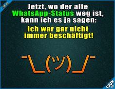 Jetzt kann ich es ja zugeben! :P  #WhatsApp #WhatsAppStatus #WhatsAppUpdate #Status #lustig #Sprüche #sowahr #Jodel #lustigeSprüche