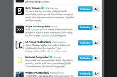 14 top photography Twitter accounts to inspire you