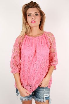 Off shoulder tops are a great way to show off your summer tan, so don't hesitate before you snag this one!