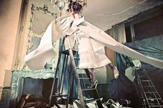 High fashion taken to great heights in 'Fond d'Ecran' by Ivor Paanakker