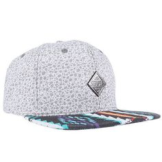 Staple Aztec Men's Snapback Hat Heather Grey Adjustable Cap Fashion Streetwear