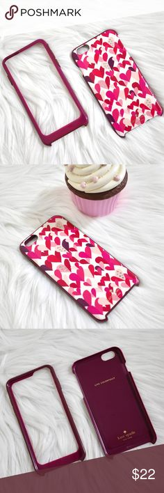 💖Kate Spade iPhone 6plus Case GREAT USED CONDITION  • Consists of 2 parts: Hard case with rhinestones/ Silicon Bumper • No major damage, minimal scratches on the hard case still in great condition  • PRICE FIRM. No trades kate spade Accessories Phone Cases