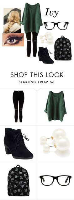 """""""Untitled #899"""" by asdfghjkl-74 ❤ liked on Polyvore featuring New Look, Clarks and Forever 21"""