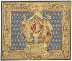 Aubusson tapestry..I have a copy I framed in the library..just LOVE this tapestry