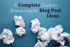 A good guide for creating ideas that stand out from the rest of the noise on the Internet. #blogging #blogpost #internet #brainstorming #ideas #bloggers