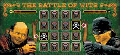 The Battle of Wits by Jude Buffum, via Behance