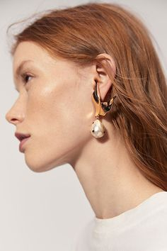 15 Amazing Statement Earrings From Mango | sheerluxe.com