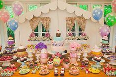 Festa tema cupcake