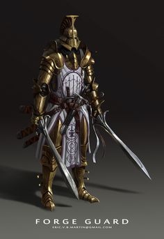 m Paladin Plate Helm Swords Dagger A character I made while in Anthony Jones Character Design Mentorship class for my portfolio. Fantasy Heroes, Fantasy Male, Fantasy Armor, Dark Fantasy, Fantasy Characters, Character Design Cartoon, Fantasy Character Design, Character Concept, Character Art
