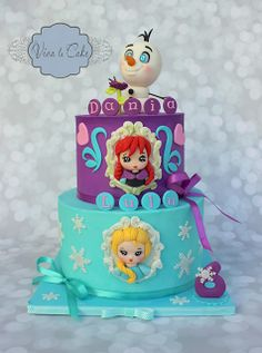 Viva La Cake I Blog: Tutorial: Fondant Cameo Elsa from Frozen (super easy version)