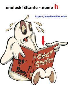 Engleski pravopis i čitanje     Slovo h se često ne čita kada se ispred njega nađu slova g, r ili ex-       rhythm     ghost     rhyme