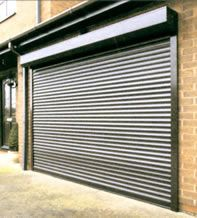 Thermaglide roller door fitted externally over ART STUDIO glass windows. & RSG5100 Continental Security Roller Shutters fixed externally to the ...