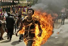 Self-immolation refers to setting oneself on fire, often as a form of protest or for the purposes of martyrdom. It has centuries-long traditions in some cultures, while in modern times it has become a type of radical political protest.