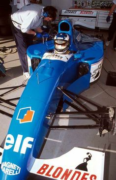 Michael Schumacher testing the 1994 Ligier at Estoril, the car featured the Renault which successor, the would power Schumacher's Benetton the next season (Ligier would replace its engines by Mugen-Honda Michael Schumacher, Sport Cars, Race Cars, F1 Motor, Motor Sport, Rs6, Course Automobile, Formula 1 Car, Indy Cars