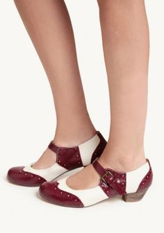 Sweety Oxford Heel By Chelsea Crew | Modern Vintage Shoes