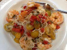 Spicy Shrimp and Shirataki Noodles