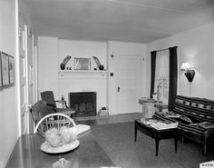 Housing interior. Courtesy of LANL archives.