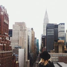 Nothing like chilling on a rooftop in the city. I need roof access!