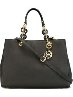 Shop Michael Michael Kors medium 'Cynthia' tote  in Julian Fashion from the world's best independent boutiques at farfetch.com. Shop 400 boutiques at one address.