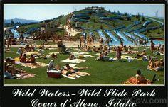 Not so Vintage Coeur d'Alene, Idaho - Wild Waters