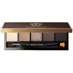 Bobbi Brown Cool Dusk Eye Palette ($50) ❤ liked on Polyvore featuring beauty products, makeup, eye makeup, eyeshadow, beauty, no color, shiny eyeshadow, eye shadow brush, eye brow makeup and bobbi brown cosmetics