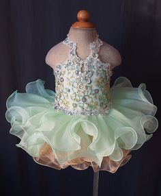 Infant/toddler/baby/children/kids/newborn Girl's Pageant evening/prom Dress/clothing for birthday,bridal,gift,party, Toddler Pageant Dresses, Beauty Pageant Dresses, Pagent Dresses, Princess Tutu Dresses, Pageant Wear, Pageant Girls, Baby Girl Dresses, Prom Dress, Toddlers And Tiaras