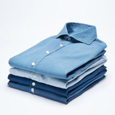 SuitSupply - denim shirts.