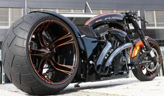 El Fuego Drag Race Style Bike.