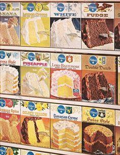 Pillsbury Cake Mix Vintage Advertisement