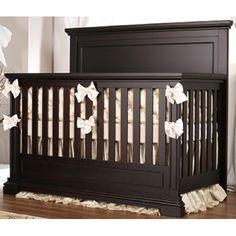 Oxford Baby Dallas 4 in1 Convertible Crib Slate Convertible