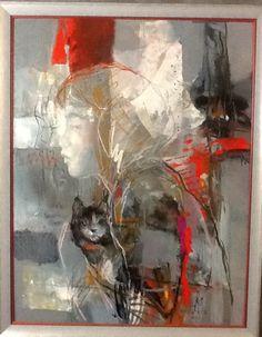 Art by viktorie chaloupkova Painting, Art, Collage, Mixed Media