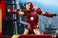 Iron Man – 1/4th Scale Mark III Collectible Figure Coming Soon     DisKingdom.com   Disney   Marvel   Star Wars - Merchandise News First Iron Man, Iron Men 1, Star Wars Merchandise, Disney Marvel, Marvel Cinematic Universe, Captain America, Scale, Superhero, Toys