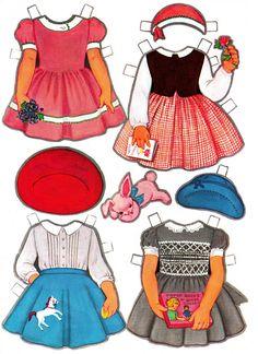 Paper Dolls~Vicky's New Clothes - Nena bonecas de papel - Picasa Albums Web