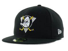Anaheim Ducks New Era NHL 20th Anniversary 59FIFTY Cap Hats