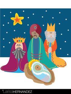 Three magical kings