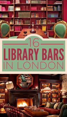 16 Incredible Library Bars In London. Would love to visit a library bar. Library Bar, Library Books, Places To Travel, Places To Visit, Reisen In Europa, Voyage Europe, Things To Do In London, London Life, London 2016