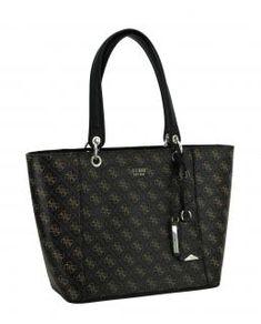 !!!Damenhandtasche Guess Kamryn Brown Multi braun Alloverprint