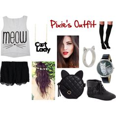 """""""Pixie's Outfit"""" by fieqa-aziz on Polyvore"""