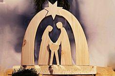 Betlém-dřevo 50x30 cm-215,-Kč