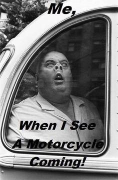 So true! Buahahaha #motorcycle