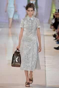 Rochas Spring 2014 Ready-to-Wear Fashion Show - Kel Markey