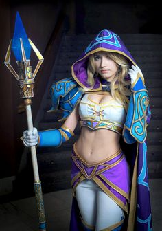 Warcraft III: Jaina Proudmoore by Narga-Lifestream<<< Not sure what this is but it looks good