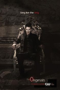 The beautiful fan made promo poster of #Klaus for #TheOriginals spinoff. Mady by (http://lucillija.tumblr.com/