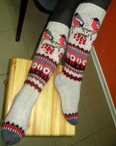 "Вязание. Жаккард - ""Зимняя радуга"" Leg Warmers, Nifty, Stitches, Sew, Socks, Knitting, Creative, Leg Warmers Outfit, Stitching"