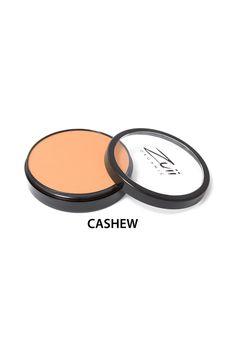 Zuii Organic - Puder Mineralny w Kompakcie - Cashew [Ciemny ciepły beż]